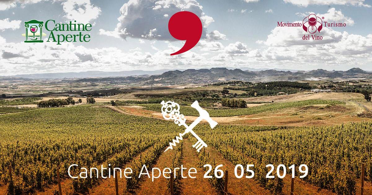 Cantine Aperte 26 Maggio 2019