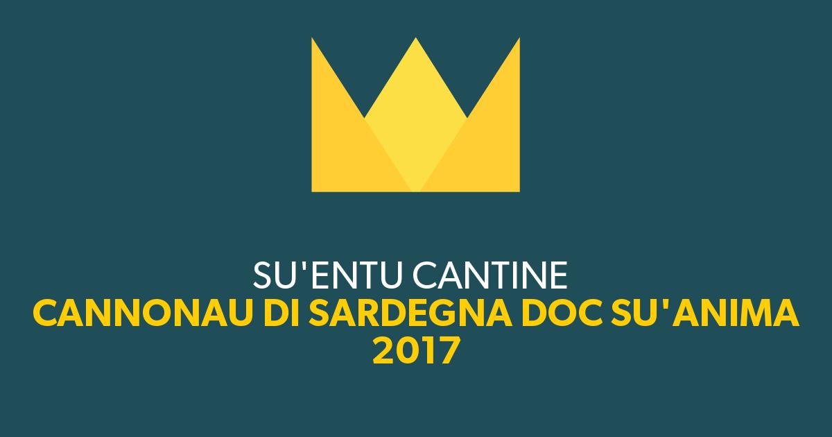 Importante Riconoscimento Per Il Su'anima Cannonau Di Sardegna DOC 2017